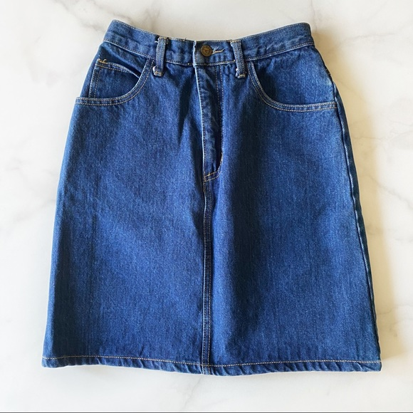 Georges Marciano for Guess Vintage Denim Skirt